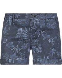 Sun 68 Shorts & Bermuda Shorts - Blue