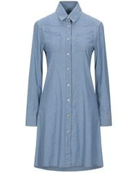 PS by Paul Smith Short Dress - Blue