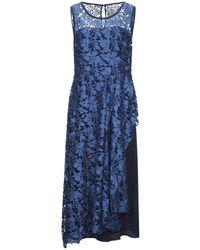 Maria Grazia Severi 3/4 Length Dress - Blue