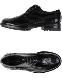 Antica Cuoieria Zapatos de cordones - Negro