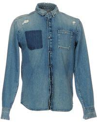 Calvin Klein - Denim Shirt - Lyst