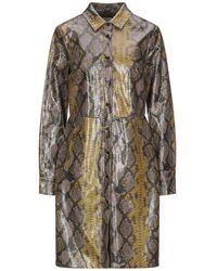 Silvian Heach Overcoat - Natural