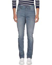 Denham - Denim Trousers - Lyst