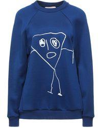 Plan C Sweat-shirt - Bleu