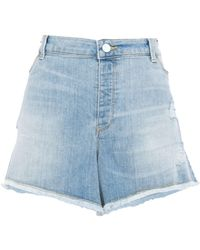 Emporio Armani Shorts vaqueros - Azul