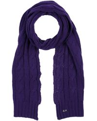 Sun 68 Oblong Scarf - Purple