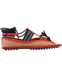 Carven Sandals - Red