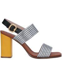 Alberto Gozzi Sandals - Metallic