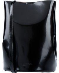 Jil Sander Navy Cross-body Bag - Black