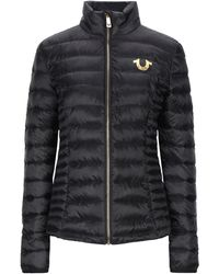 True Religion Synthetic Down Jacket - Black