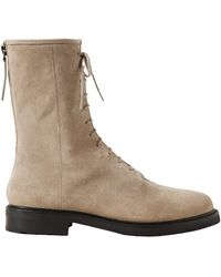 LEGRES Ankle Boots - Natural