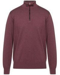 Paul & Shark Turtleneck - Purple