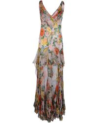 Victorio & Lucchino Long Dress - Pink
