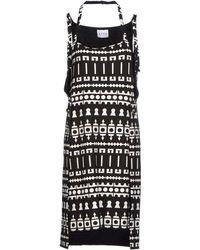 Atto - Short Dress - Lyst