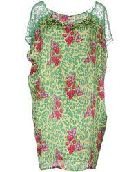 Beayukmui - Short Dress - Lyst
