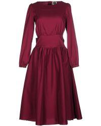 A.m. - 3/4 Length Dress - Lyst