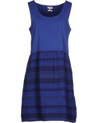 Yerse Short Dress - Blue