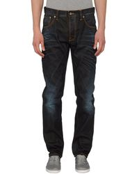 Nudie Jeans Pantaloni jeans - Blu
