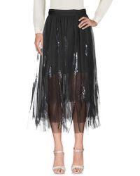 Brunello Cucinelli Long Skirt - Gray