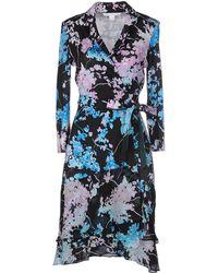 Diane von Furstenberg Cathy Silk Jersey Wrap Dress - Multicolor