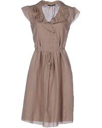 Seventy Short Dress - Gray