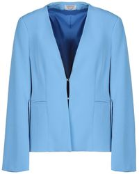 Twenty Easy By Kaos Suit Jacket - Blue