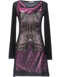 Ean 13 Short Dress - Black