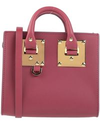 Sophie Hulme Handbag - Purple