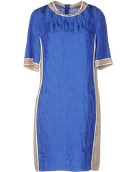 PURIFICACION GARCIA Short Dress - Blue