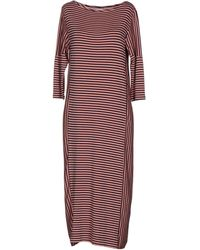Peuterey 3/4 Length Dress - Pink