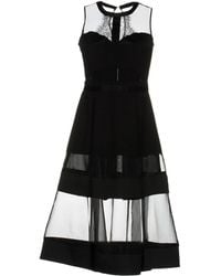 NJ COUTURE - Knee-length Dress - Lyst