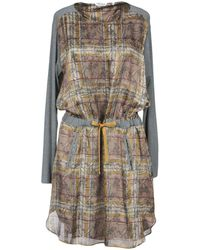 Caliban - Short Dresses - Lyst