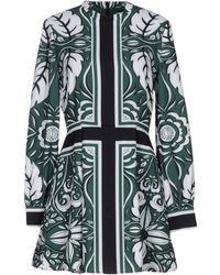 Finders Keepers The Way Marrakech Printed Mini Dress - Green