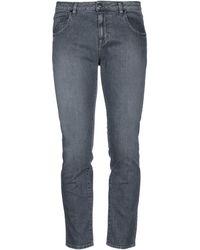TRUE NYC Denim Trousers - Grey