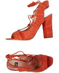 Boutique Moschino Sandals - Orange