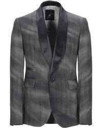Tom Rebl Suit Jacket - Gray