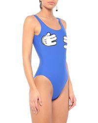 Zoe Karssen One-piece Swimsuit - Blue