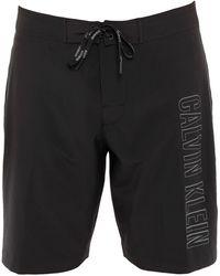 Calvin Klein Beach Shorts And Trousers - Black