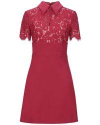 Jucca Short Dress - Red