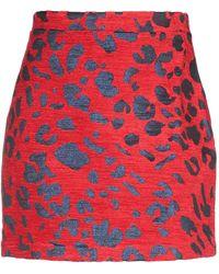 ANDAMANE Mini Skirt - Red
