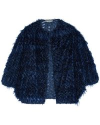 Lela Rose Suit Jacket - Blue