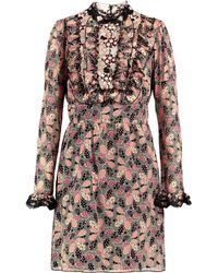 Anna Sui Short Dress - Multicolour