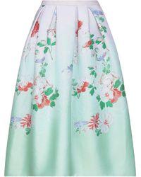 Andrew Gn Midi Skirt - Multicolour