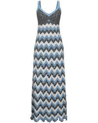 M Missoni - Long Dress - Lyst