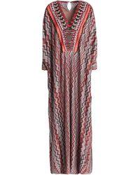 Missoni Long Dress - Red