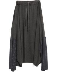 Collection Privée 3/4 Length Skirt - Blue