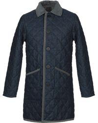 Lavenham Mantel - Blau