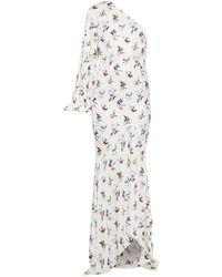 Solace London Vestito longuette - Bianco