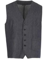 Daniele Alessandrini Homme Waistcoat - Grey