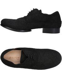 Barny Nakhle Lace-up Shoe - Black